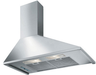 Вытяжка купольная Falmec TRAPEZIO 900 inox LEFT slider 600 MC